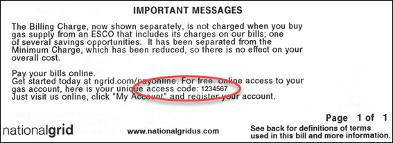 Grid Access Code Grid Code National Access National