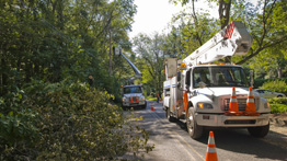 Service Restoration Crews After a Storm